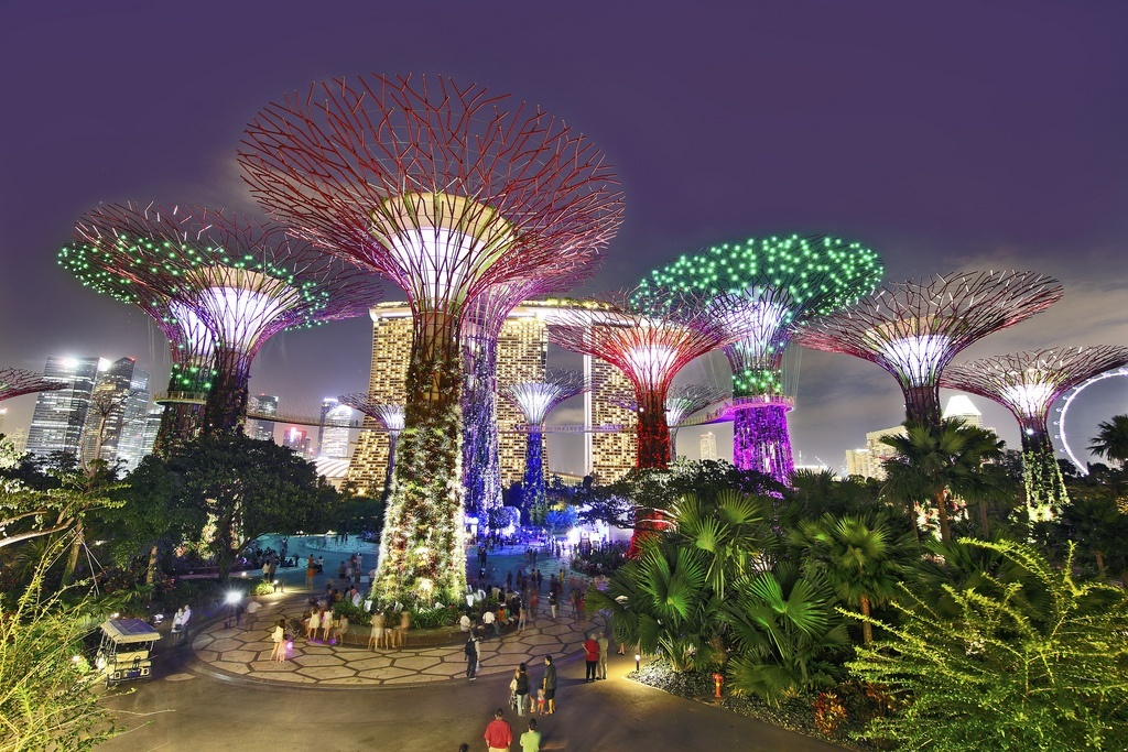 Garden By The Bay Majestic most romantic places in singapore for honeymoon