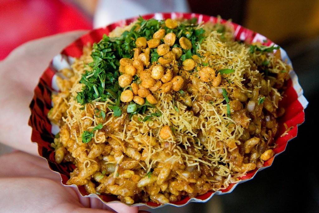 Bhel Puri in India