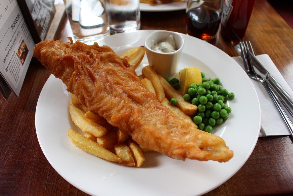 Fish and Chips in England