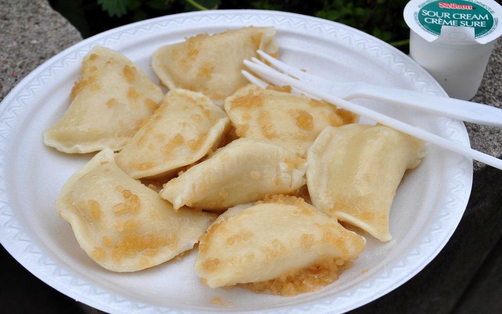 Pierogi Street Food