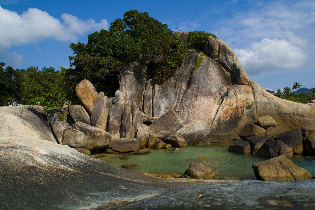 hin ta and hin yai rocks in koh samui