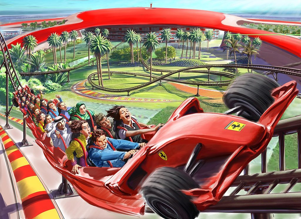 Formula Rossa Abu Dhabi
