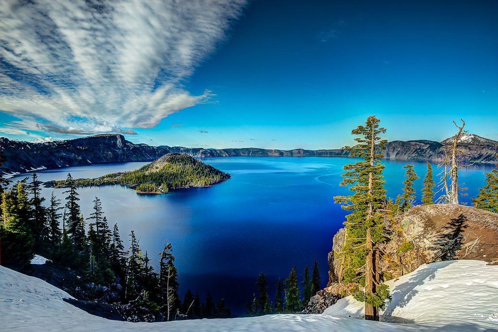 crater lake in united status