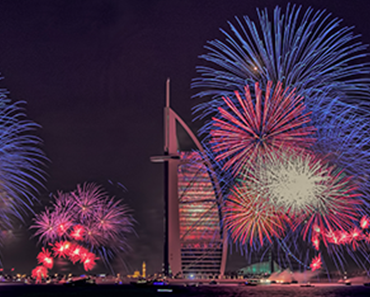 Dubai Firework- Burj Al Arab