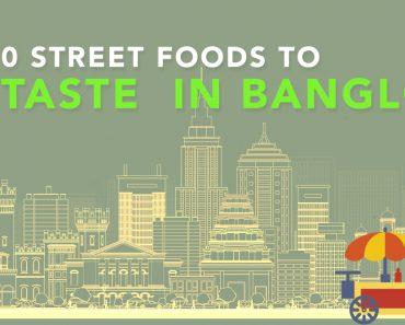 Street foods of Bangalore