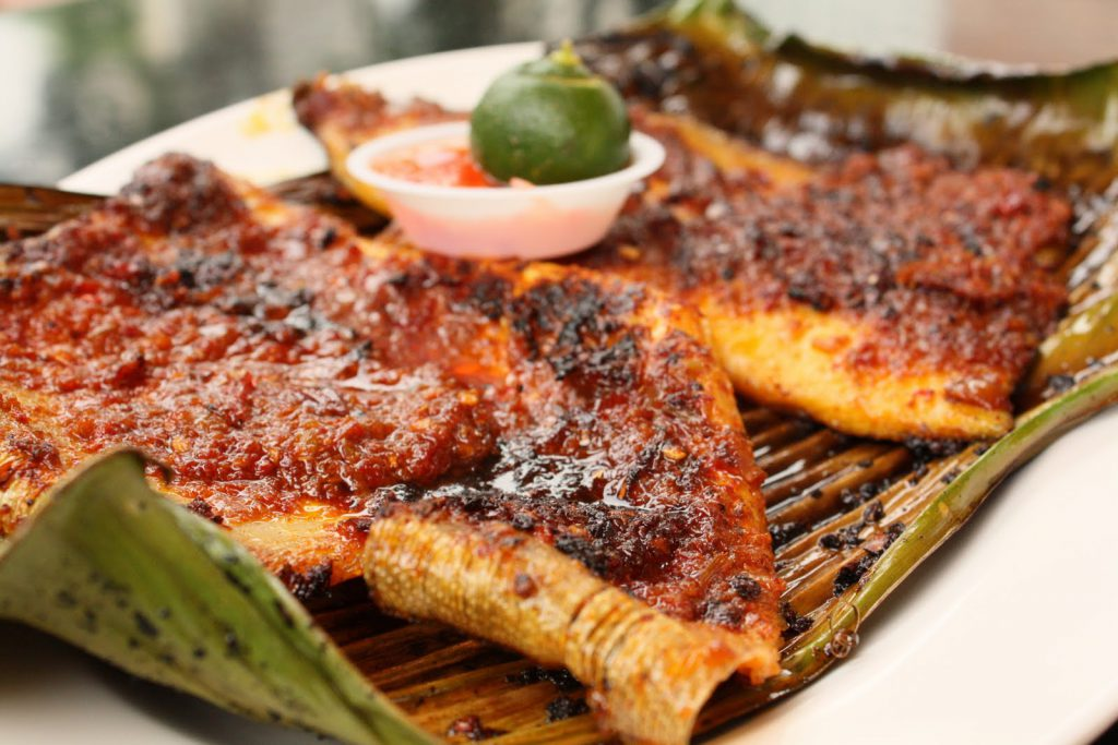 barbequed stingray