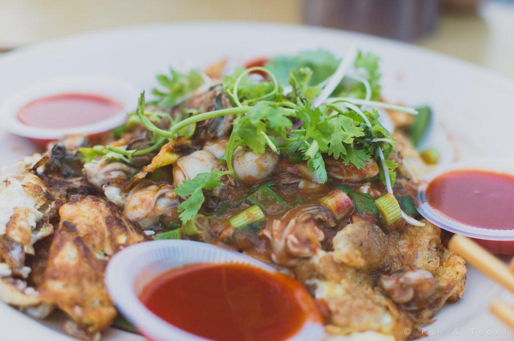 oyster omlete