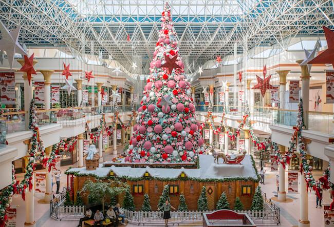 Christmas at Malls of Dubai