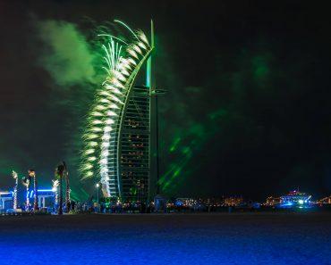 Fireworks Burj Al Arab