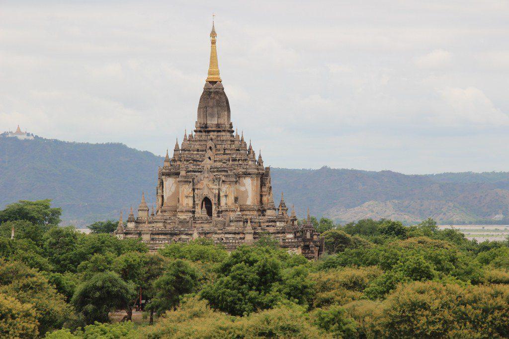Gawdawpalin temple in Myanmar