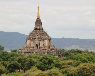 Gawdawpalin temple in Myanmar