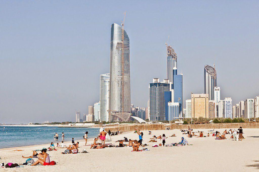 Mirfa Beach Abu Dhabi