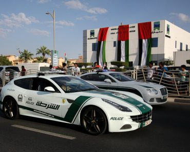 Police roaming in Bentleys and Ferraris