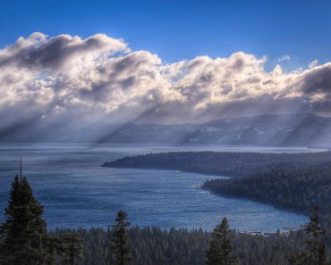 Lake Tahoe in California