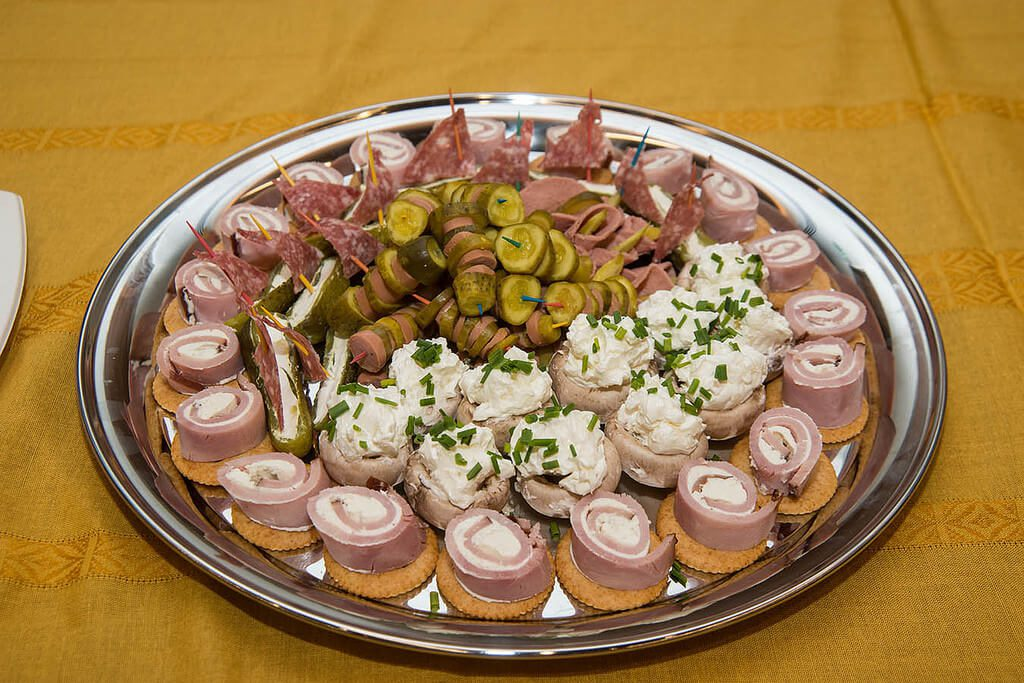 Assorted Food Plate