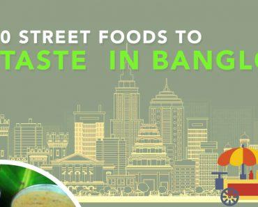 Bangalore street foods