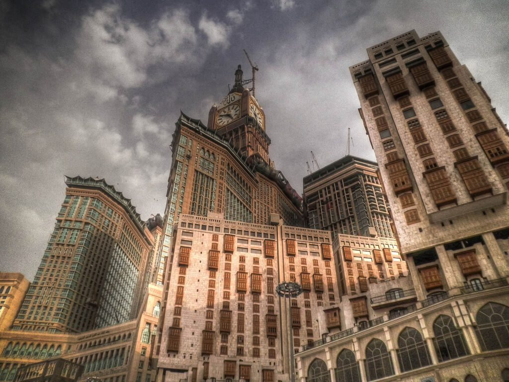Abraj Al-Bait Clock Tower, Saudi Arabia