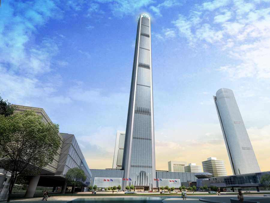 CTF Finance Center, China