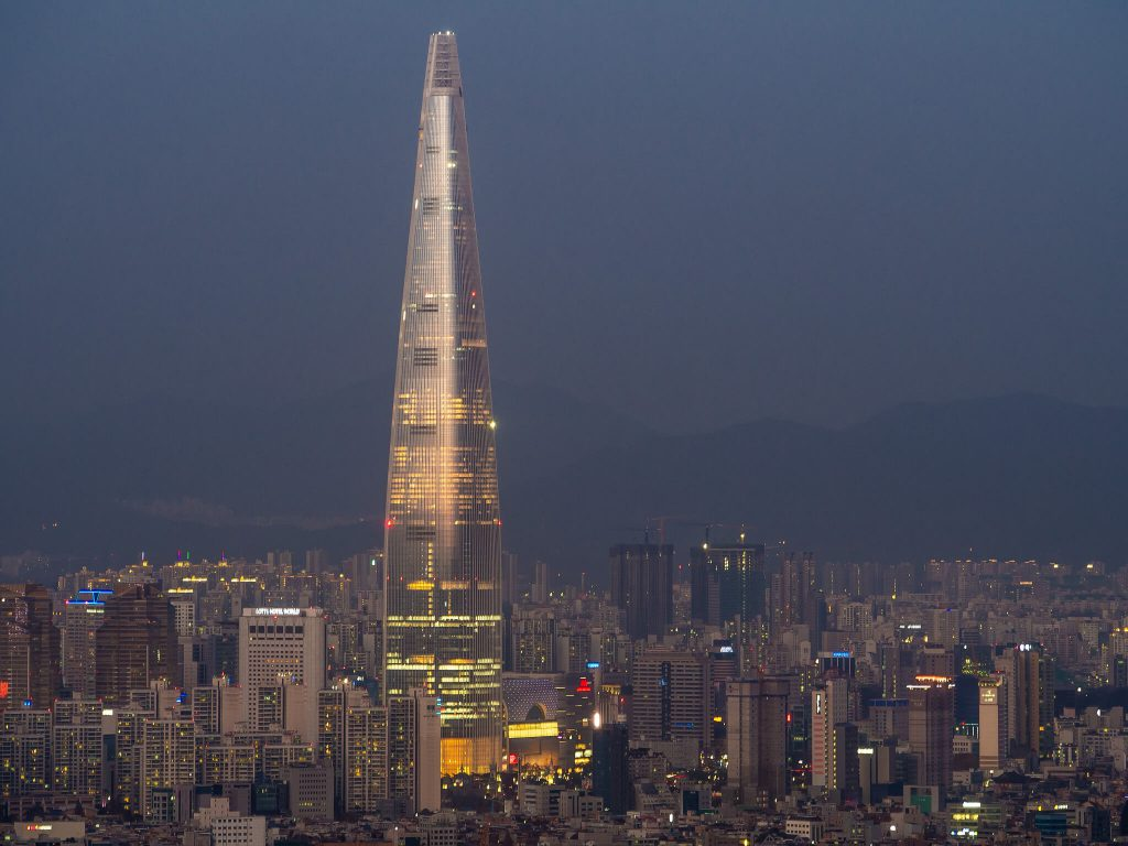Lotte World Tower, South Korea