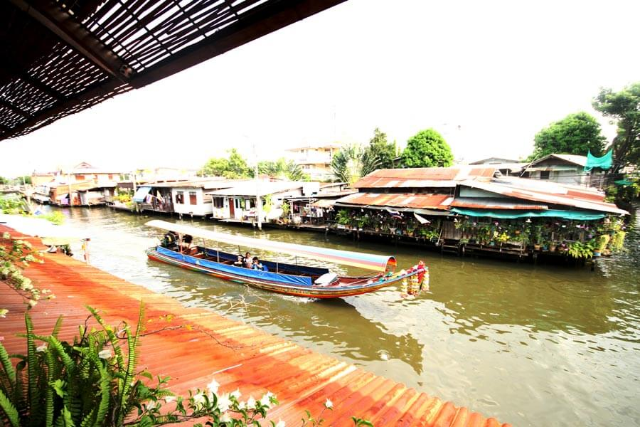 Bangkok's backwater canals