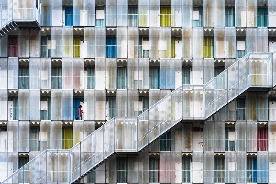 Cities Colorful Apartment, Kitagata, Gifu, Japan