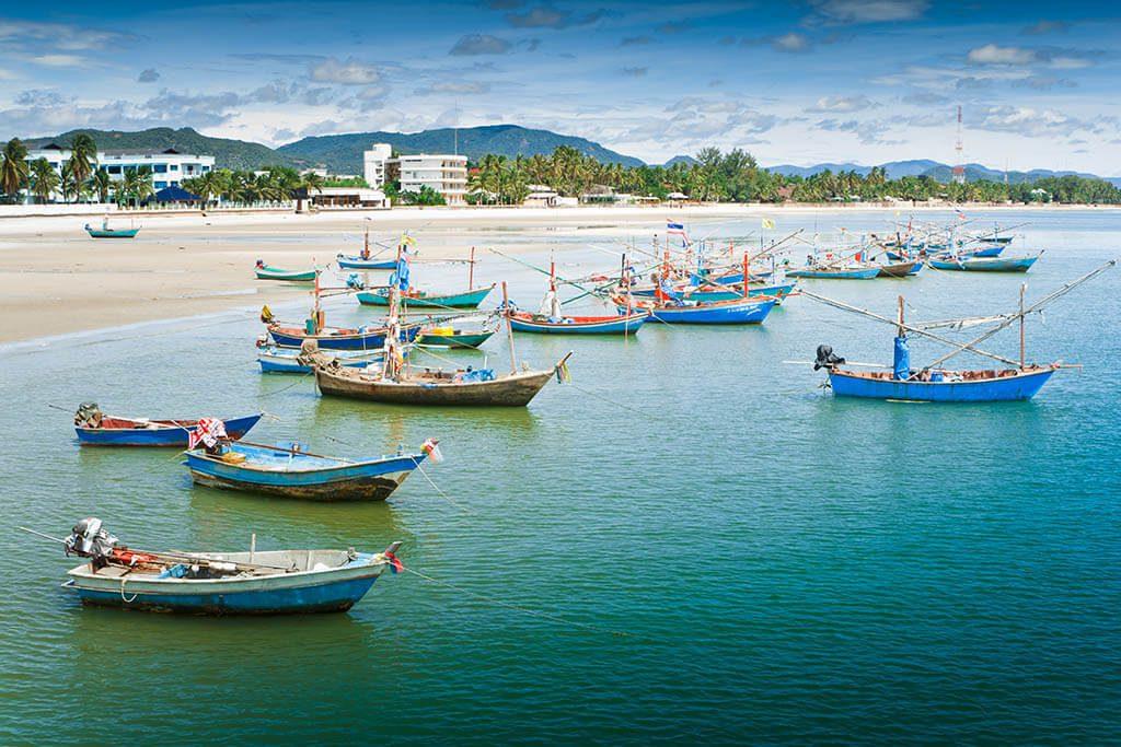 Hua- Hin beach, Thailand