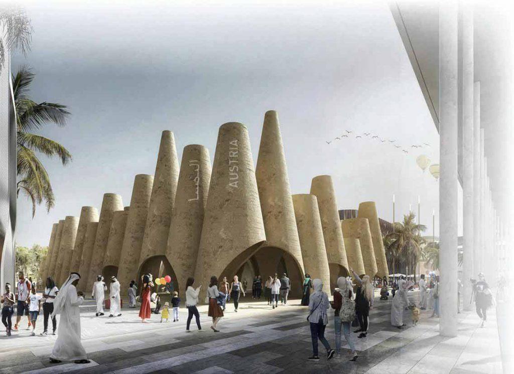 Austria Pavilion in Expo 2020 Dubai